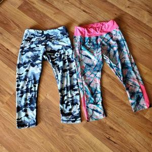 Pants - 2 pairs Capri leggings